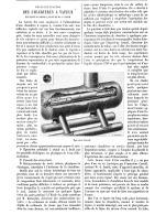 DESINCRUSTATION DES CHAUDIERES à VAPEUR Epurateur CARROLL , Systéme  W. J. SMITH  1888 - Non Classés