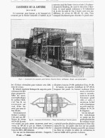 L'ASCENSEUR  De La LOUVIERE   (BELGIQUE ) 1888 - Belgio
