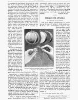 PHYSIQUE SANS APPAREILS  ( élasticité De Flexion )  1888 - Sciences & Technique