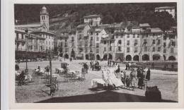 AK - Italien - Portofino - Menschen Auf Der La Piazza - 30iger - Genova (Genoa)