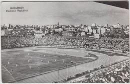 AK - BUCURESTI (Bukarest) - Stadionul Republici - 1964 - Dyn. Bukarest - Inter Mailand - Fussball