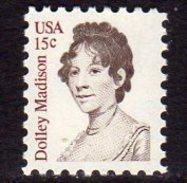 USA 1980 Dolly Madison 15c Definitive, MNH (SG 1795) - Vereinigte Staaten