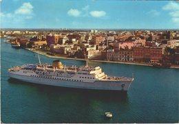M.S. EGNATIA  IN MANOVRA / BRINDISI /  LOT 1036 - Dampfer