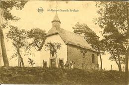 """CP De St-HUBERT """" Chapelle St-roch """" Cachet Relais De ORVAL - Saint-Hubert"""