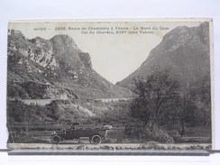 73 - ROUTE DE CHAMBERY A YENNE - LE MONT DU CHAT - COL DU CHEVELU - AUTOMOBILEORAN - 1915 - Yenne