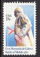 USA 1980 Bernardo De Galvez Commemoration, MNH (SG 1799) - Vereinigte Staaten