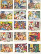 """Chocolat POULAIN Lot De 12 Images """"Les Belles Chansons De France"""" - Old Paper"""