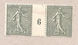 15c Semeuse* Millésime 6 Type 1 - N°130 - 1903-60 Semeuse Lignée