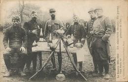 MILITARIA  -  EN ARGONNE  -  Un Joyeux Premier De L'an - War 1914-18