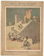 Couverture De Cahier 19° Siècle - Art Et Histoire Militaires - Antiquité - Prise De Troie Par Les Grecs -cheval De Troie - Book Covers