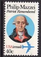 USA 1980 Philip Mazzei Airmail, MNH (SG A1815) - Vereinigte Staaten