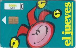 CP-142 TARJETA EL JUEVES VERDE DE TIRADA 105000  (NUEVA-MINT CON BLISTER)  ¡¡BAJO FACIAL!!