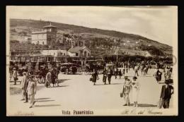 PIRIAPOLIS TARJETA POSTAL FOTO ESTACION DE TREN ED. LONDON PARIS TRAIN RAILROAD RARE Vintage OriginalPOSTCARD (W4_3319) - Uruguay