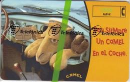 CP-143 TARJETA CAMEL-I TIRADA 10350000  (NUEVA-MINT CON BLISTER)  ¡¡BAJO FACIAL!!