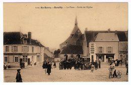 En Berry. Reuilly. La Place. Sortie De L'église. (1404) - France