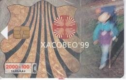 CP-146 TARJETA XACOBEO´99 DE TIRADA 252000  (NUEVA-MINT CON BLISTER)  ¡¡50% BAJO FACIAL!!