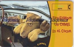 CP-148 TARJETA CAMEL-II  DE  TIRADA 40500  (NUEVA-MINT CON BLISTER)  ¡¡BAJO FACIAL!!