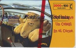 CP-149 TARJETA CAMEL-III TIRADA 280400  (NUEVA-MINT CON BLISTER)  ¡¡50% BAJO FACIAL!!