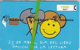 CP-152 DIA DEL LIBRO DE FECHA 4/99 Y TIRADA 117000 QUIJOTE Y SANCHO PANZA  (NUEVA-MINT CON BLISTER)  ¡¡BAJO FACIAL!!