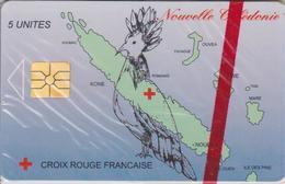NC34A CROIX ROUGE  5 GEM 09/95 NON NUMEROTEE NSB-NOUVELLE CALEDONIE