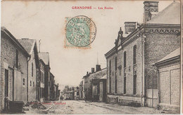 08 Grandpré 1905  RARE Les Ecoles éditeur Matillot à Grandpré