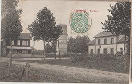 08 Grandpré 1905  RARE La Gare éditeur Matillot à Grandpré
