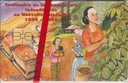 NC35A CENTENAIRE INDONESIEN  5 GEM 09/95 NON NUMEROTEE NSB-NOUVELLE CALEDONIE