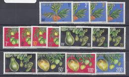 1977 - Série Complète N° 1 à 15 (A) - Neufs Gommage Mat - Avec Les Charnières Facilement Enlevables - X - TB - - Service