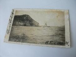 NAVE SHIP R.T. CLIMENE POZZUOLI 1938 - Guerra