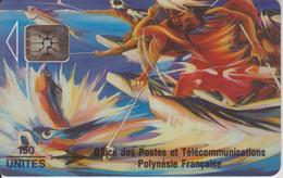PF14Aa PECHE AUX CAILLOUX 150 SC5 02/93 TBE-POLYNESIE FRANCAISE