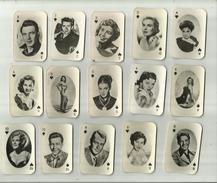 20 X  Speelkaarten(klein Formaat) = Diverse Filmsterren ! . - Photos