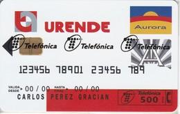 P-371 TARJETA DE ESPAÑA URENDE  DE TIRADA 6000  (NUEVA-MINT CON BLISTER)