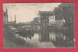 Wervik / Wervicq - La Lys - Le Pont Frontière - Feldpost 1915 ( Verso Zien ) - Wervik
