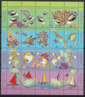 Cocos - 1994 - N°Yv. 286 à 305 - Faune Marine - Neuf Luxe ** / MNH / Postfrisch - Cocos (Keeling) Islands