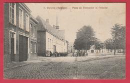 Wervik / Wervicq - Place Du Steenacker Et L'Hôpital - Feldpost 1915 ( Verso Zien ) - Wervik