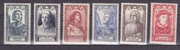 N° 765 à 770  Célèbrités Su XVème Siècle: Série En Timbres Neuf Sans Charnière Impeccab Le. - Unused Stamps