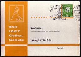 Germany Nurnberg 1960 / Internationale Spielwarenmesse / Toys Fair / Machine Stamp - Bambole