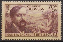 N°437 ** CLAUDE DEBUSSY 1939 - France