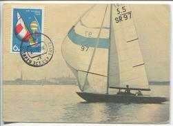 Sailing - The Baltic Regatta - 470 Class, 1968 (Maximum Card) - Voile