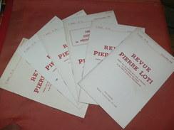 ROCHEFORT / REVUE PIERRE LOTI / LOT 6 NUMEROS AN 1986:1987 N° 25/26/27/28/29/30 - Poitou-Charentes