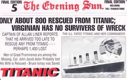 DENMARK - Titanic, 05/98, 800 Tirage ,mint - Dinamarca