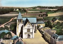 49 - Blaison : En Avion Au Dessus De.... L'Eglise Saint-Aubin - CPM écrite - France