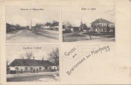 Gruss Aus BREITENSEE Bei Marchegg, Gel.190?, Abgelöste Marke - Autriche