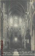 CARTE PHOTO : VALENCIENNES INTEREUR DE L'EGLISE NOTRE-DAME DU ST-CORDON 13 SEPTEMBRE 1908 59 NORD - Valenciennes