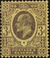 Great Britain Scott #132, 1902, Hinged