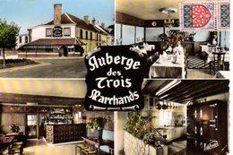 CPSM Dentelée - HERBAULT (41) - Carte Multi-Vues De L'Auberge Des Trois Marchands Sur La Route D'Angers En 1967 - Herbault