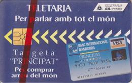AND27 BANQUE MORA 50 GEM 01/95 NSB-ANDORRE