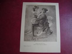Fiche Illustrée Le Roy S'amuseAcienne Prison Saint-Lazare Salle De Garde Des Internes En Médecine Collection Eusedyl N°5 - Other