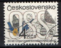 CECOSLOVACCHIA - 1987 - ORGANIZZAZIONE SOCIALISTA DELLE COMUNICAZIONI - USATO - Usati