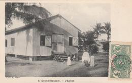 GRAND-BASSAM   L'Eglise   TB PLAN 1907 - Côte-d'Ivoire